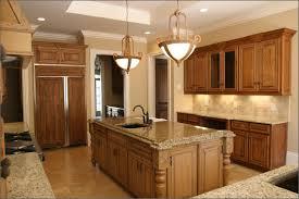 granite countertop individual kitchen cabinets backsplash