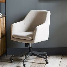 Upholstered Swivel Desk Chair by Good Upholstered Office Chair On Casters 11 For Your Home Remodel