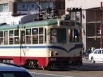 路面電車:ファイル:土佐電鉄路面電車.JPG