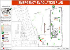 evacuation diagrams comsaf