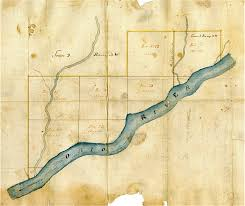 Map Of The Ohio River by Making History The Swiss Vine Dressers Of Vevay Indiana