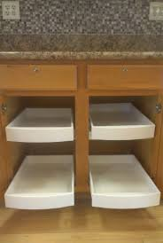 fancy rolling shelves for kitchen cabinets greenvirals style