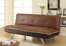 Chocolate Living Room Furniture by Chocolate U0026 Dark Brown Faux Nubuck Sofa Bed Futon Caravana Furniture