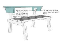 Free Wooden Picnic Table Plans by Ana White Picnic Table That Converts To Benches Diy Projects