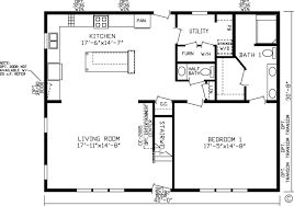 1 Bedroom Modular Homes Floor Plans by Home Newberry 99704k Kingsley Modular Floor Plan Fairmont