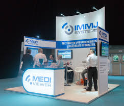 exhibition stands event branding and large format graphics immj