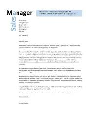 Sales Manager CV example    Sales Manager cover letter
