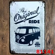 Vintage Home Decor Wholesale Online Buy Wholesale Vintage Volkswagen Sign From China Vintage