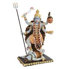 kali hindu goddess of destruction statue buddhist hindu gods