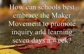 Maker Movement Education