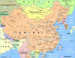 Fuzhou China Map by China Map In Chinese Language