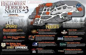 halloween horror nights tampa universal halloween horror nights 23 map disney u0026 orlando blog