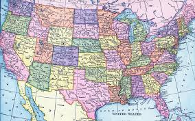 United States Map Major Cities by States Federal Motor Carrier Safety Administration