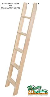 BASIC WOOD BUNK OR LOFT BED LADDERS - Ladder for bunk bed