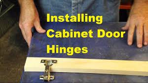 installing cabinet hinges video response to kaligirl1980 youtube