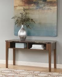 amazon com signature design by ashley theo sofa table kitchen