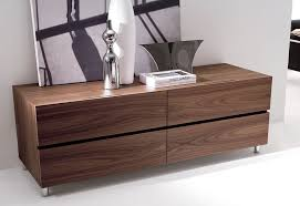 Walnut Furniture Bedroom by Bedroom Long Chest Furniture Made Of Walnut Wood With Six Drawers