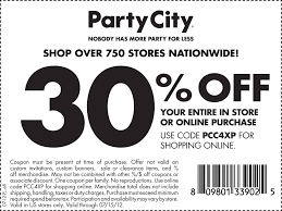 octobers party city coupons coupon codes blog free printable