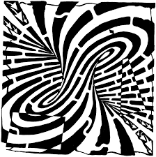 funny free printable optical illusions coloring pages free eye