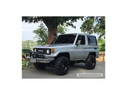 toyota landcruiser 70 serires mickey mouse cst 33
