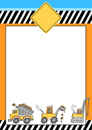 construction themed birthday party with free printables how to