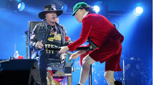 Chair Rock Angus Here U0027s Pro Shot Video Of Axl Rose Debut Live Performance With Ac