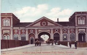 Norwich City railway station
