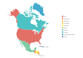 Centro America Map by Geo Map Of Americas
