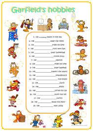 Halloween Quiz Printable by 361 Free Esl Hobbies Worksheets
