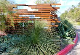 contemporary garden fencing ideas video and photos