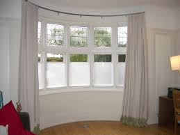 curtains for bow windows bow window curtain rods