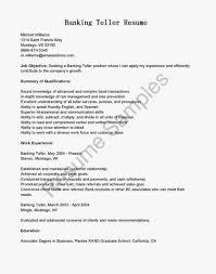 Career Objective For Bank Sample Resume For Banking Job Sample Resume123