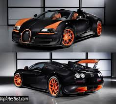 Bugatti Veyron Engine Price Latest List Of Most Expensive Fastest Cars In The World 2017