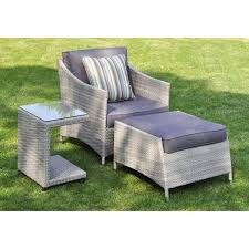 Wicker Outdoor Furniture Sets by Mia 3 Piece Rattan Wicker Outdoor Furniture Set Free Shipping