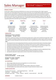 Good Resume Objectives  sales manager resume sample  resume     happytom co