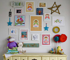 cute and artistic little boys room wall decoration ideas with rose