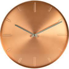 belt copper wall clock 40cm