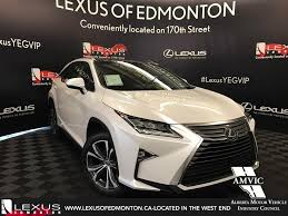 lexus canada second hand pre owned 2017 lexus rx 350 demo unit executive package 4 door