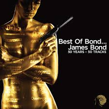 Capa do CD Best Of 50 Years James Bond - Trilha Sonora