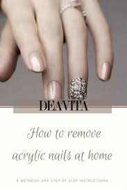 best 10 acrylic nails at home ideas on pinterest remove acrylic