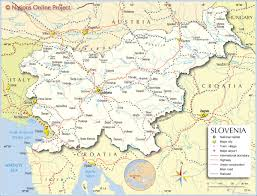 Show Map Of Europe by Political Map Of Slovenia Nations Online Project