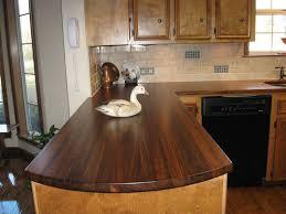 butcher block countertops beige tile ceramic flooring artichoke