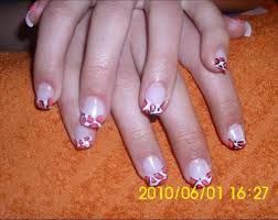 nail design nail art design accessories french tip abstract nail