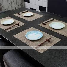 dining placemats pvc coasters kitchen mat dining table place mats