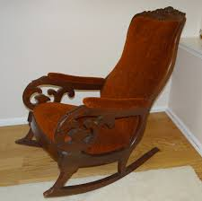 Wingback Rocking Chair Omg I Am In Love With This Upholstered Painted Rocker Rocking