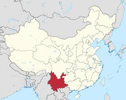 China Topographic Map by Yunnan Wikipedia