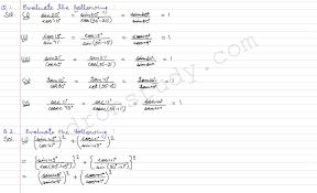 cbse class 10 class x cbse r d sharma solutions trigonometeric