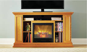 50 Electric Fireplace by Fireplace Tv Stand 50 Electric Indoor Shelves Storage Light Oak