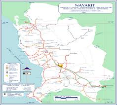 San Luis Potosi Mexico Map by Slideshow For Nayarit Mexico Maps