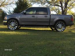 f150 on 24 inch rims 2002 ford f150 supercrew cab
